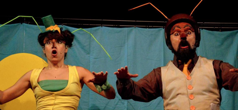 Chica & Miko -Teatro Le Maschere