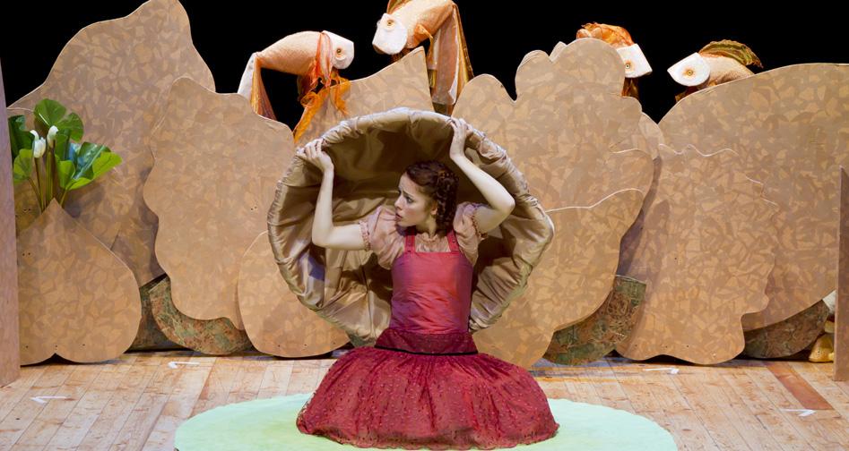 Pollicina spettacolo teatro per bambini